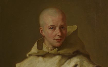 Portrait of Dom Louis Baudouin du Basset, a Carthusian monk of Gaillon