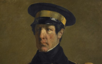 Portrait d'un officier de marine