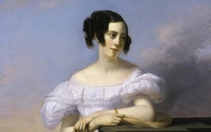 Portrait of Madame Francis Vaussard, born Élisabeth-Adélaïde Cavallier