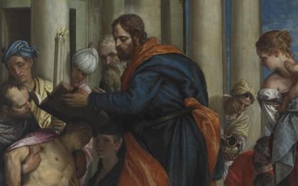 Saint Barnabé guérissant les malades