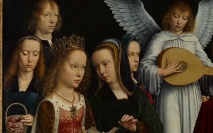 La Vierge entre les Vierges