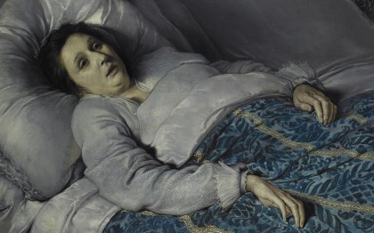 Young Woman on her Death Bed