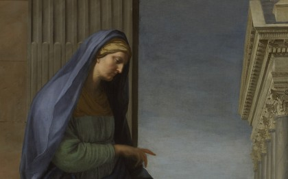 Saint Anne Leading the Virgin to the Temple