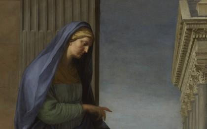 Sainte Anne conduisant la Vierge au temple