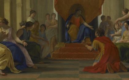 Poliphile devant la reine Eleuthérilide