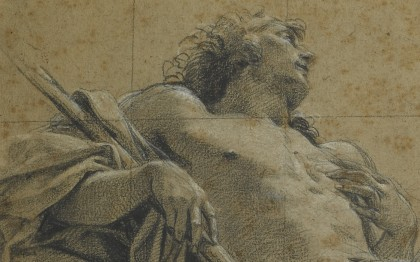 Study for a figure of Endymion