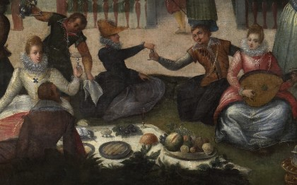 Feast in the Park of the Duke of Mantua
