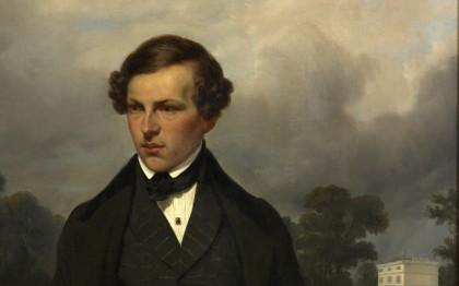 Portrait de Mr Gustave de Maupassant (père du romancier)