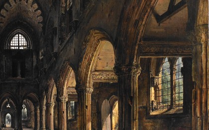 Interior of Rosslyn Chapel