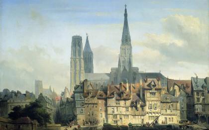 Voyages pittoresques 1820 -2009 : la Normandie romantique