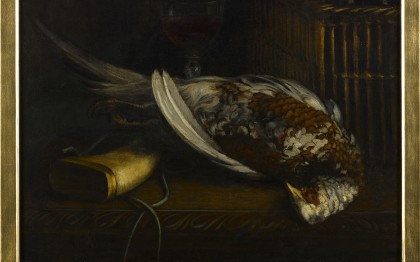 Nature-morte au faisan  (Still life with pheasant)