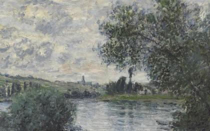 La Seine à Vétheuil  (The Seine in Vétheuil)