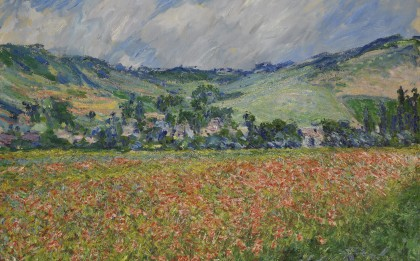 Champ de coquelicots, environs de Giverny  (Field of Poppies near Giverny)