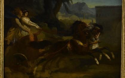 Le Retour de la course ou Char antique