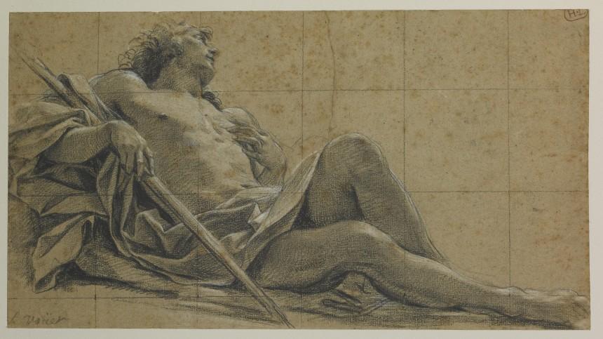 Study For A Figure Of Endymion Mus 233 E Des Beaux Arts