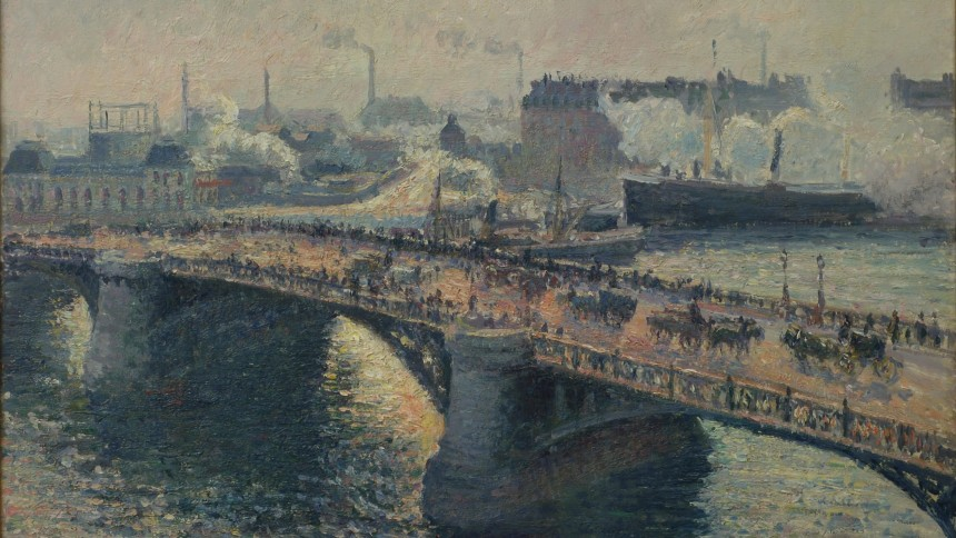 Une ville pour l 39 impressionnisme monet pissarro et for Camille pissarro oeuvre