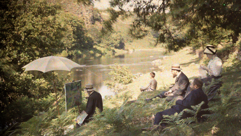 La vie en couleurs : Antonin Personnaz, photographe impressionniste