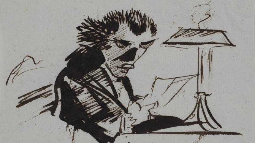 Caricatures et dessins burlesques : Du XVIIIe à la Belle Époque